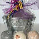 Bath Bomb Fizzies Gift Bucket