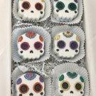 Sugar Skull Chibi Bath Bomb Day of the Dead Gift Box