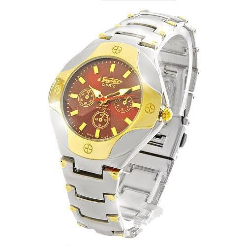 Marco Max Two-toned, Water Resistant, SS Back Watch