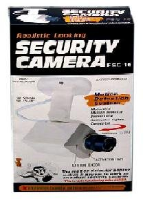 Decoy Security Surveillance Camera with Motion Sensor