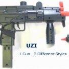 M35 Uzi Airsoft Gun 2 in 1 Gun air soft FREE SHIPPING