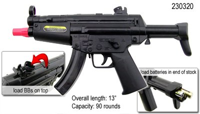 8 EIGHT Fully Automatic Airsoft Mini MP5s FREE  SHIPPING Bulk Wholesale