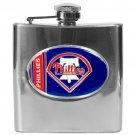 Philadelphia Phillies MLB 6oz Stainless Steel Flask