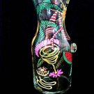 Caribbean Excitement Design - Hand Painted - Carafe - .5 Liter