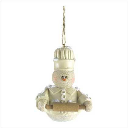 Snowberry Baker Ornament