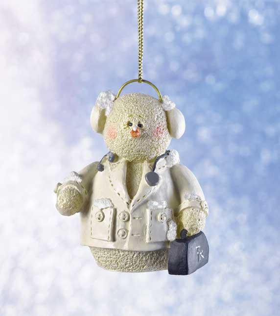 Snowberry Doctor ornament