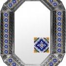 octagonal tin mirror