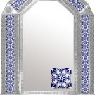 mexican arch tin mirror