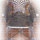 mexican furniture: patio chair