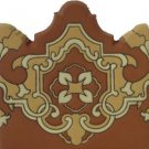 high relief stair riser tiles