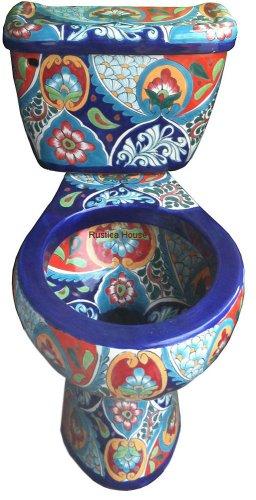 mexican bathroom toilet