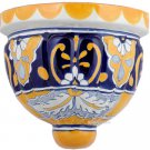 mexican talavera pottery sconce