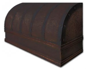 wall copper hood