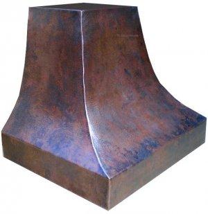 copper oven hood