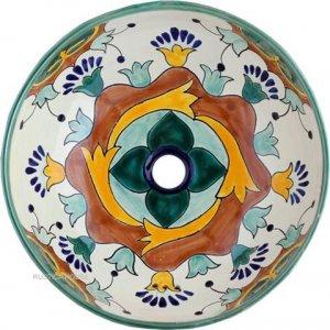 mexican round undermount sink