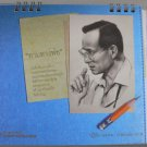Desk Calendar 2012 Thai King Bhumipol Follow Route Behavior Act Thailand Rama IX