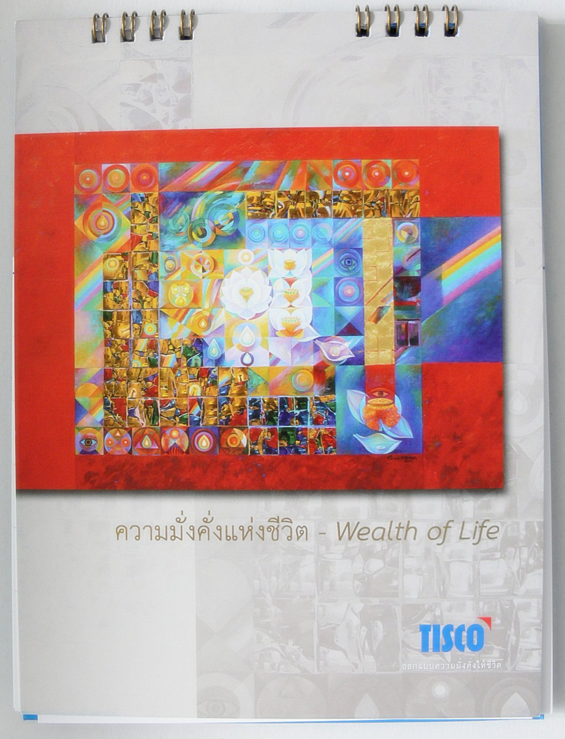 Desk Calendar 2012 Thai Thailand Abstract Pictures Culture Wealth Happiness Life