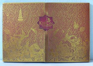 Postcard Thailand Ramayana Hanuman Thai Masked Dance Khon Phra Ram Tosakan 16 pc