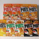 Glico Pretz Tom Yum Corn Cheese Pizza Fried Bread Biscuit Stick Snack Gift 9 NEW