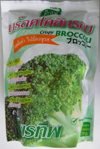 Broccoli Crispy Tom Yum Veggie Vegetarian Food High Dietary Fiber Vitamin C Sulforaphane Indole 30g