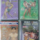 Muay Thai Kick Boxing MMA Training 4 DVDs Gift K-1 Traditional Mixed Martial Art