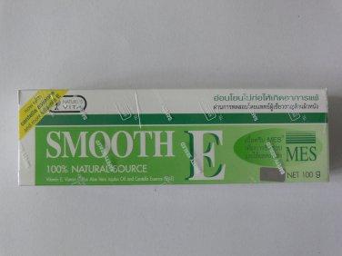 Smooth E Cream Reduce Scar Stretch Mark Blemish Pregnancy Care Anti Aging Wrinkle 100g