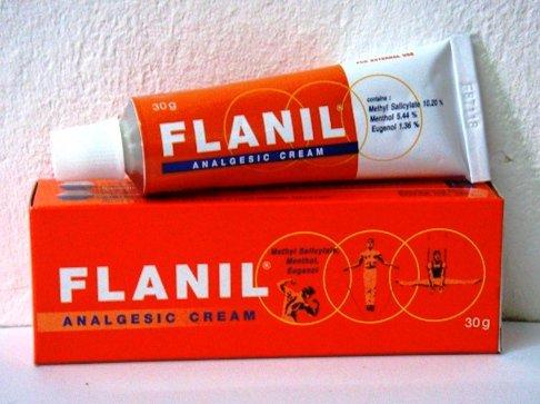Flanil Analgesic Massage Cream Muscle Pain Relief Sport Sore Stiff arthritic 30g
