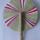Hippy Yippy Boho Style Fan Travelling Compact Foldable Picnic Handmade Beachwalk