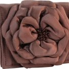 Copper Rose Silk Wallet