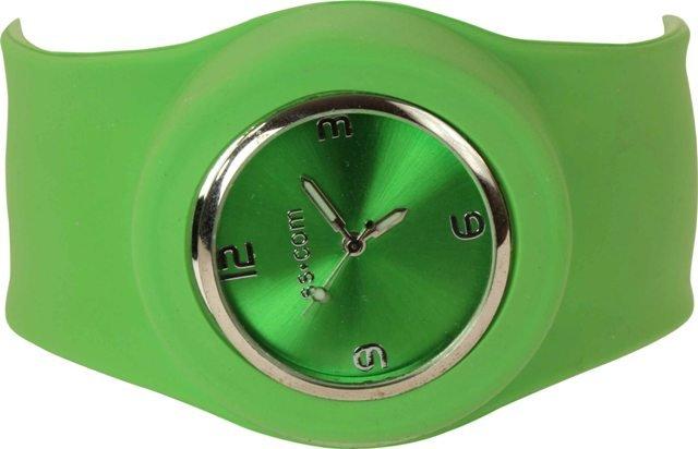 Go-Go Green Slap Watch