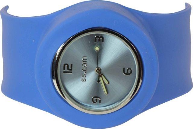 Light Blue Slap Watch