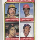 74 TOPPS [ROOKIE OUTFIELDRS]