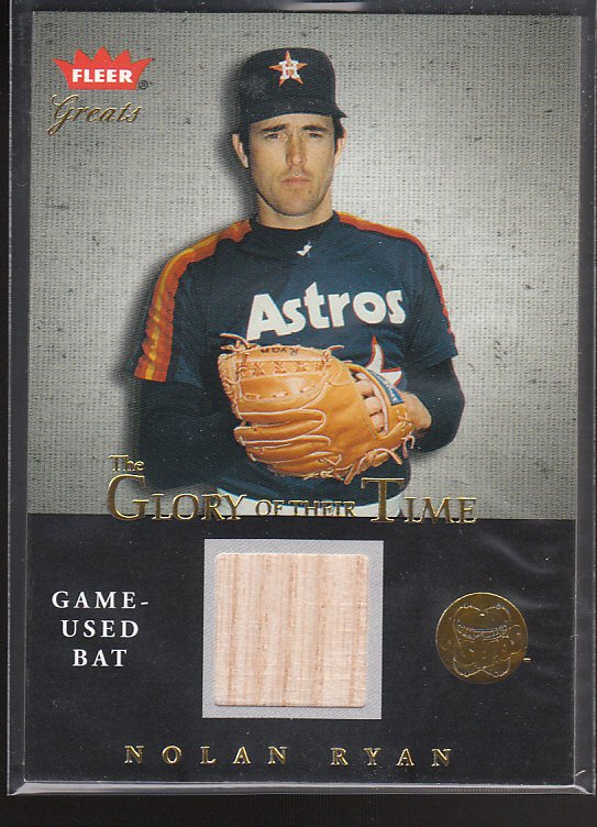 04 GREATS OF THE GAME [GLORY OF THEIR TIME GAME USED]NOLAN RYAN