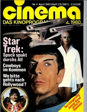 Cinema #4 April 1980  Germany