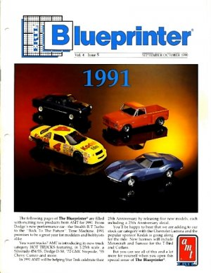 ERTL Blueprinter, v. 4, n. 5.  September/October 1990