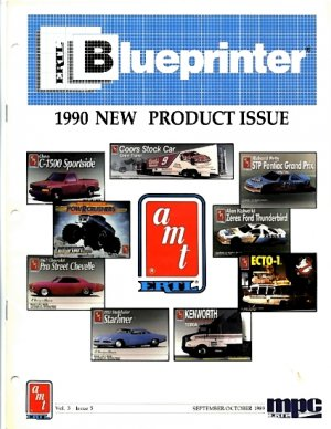 ERTL Blueprinter, v. 3, n. 5.  September/October 1989