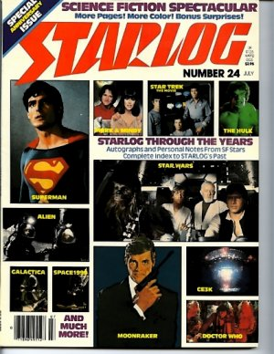 Starlog #24 July 1979 Special Anniversary Issue