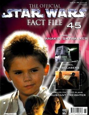 Star Wars Fact File #45 UK 2002