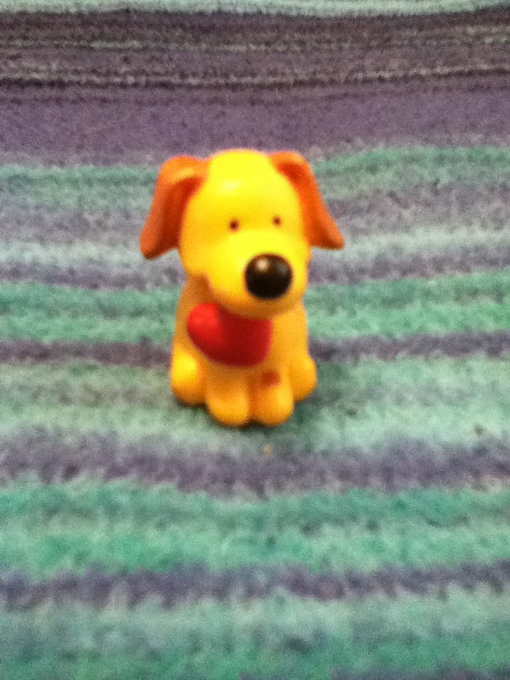 Russ Puppy Pencil topper