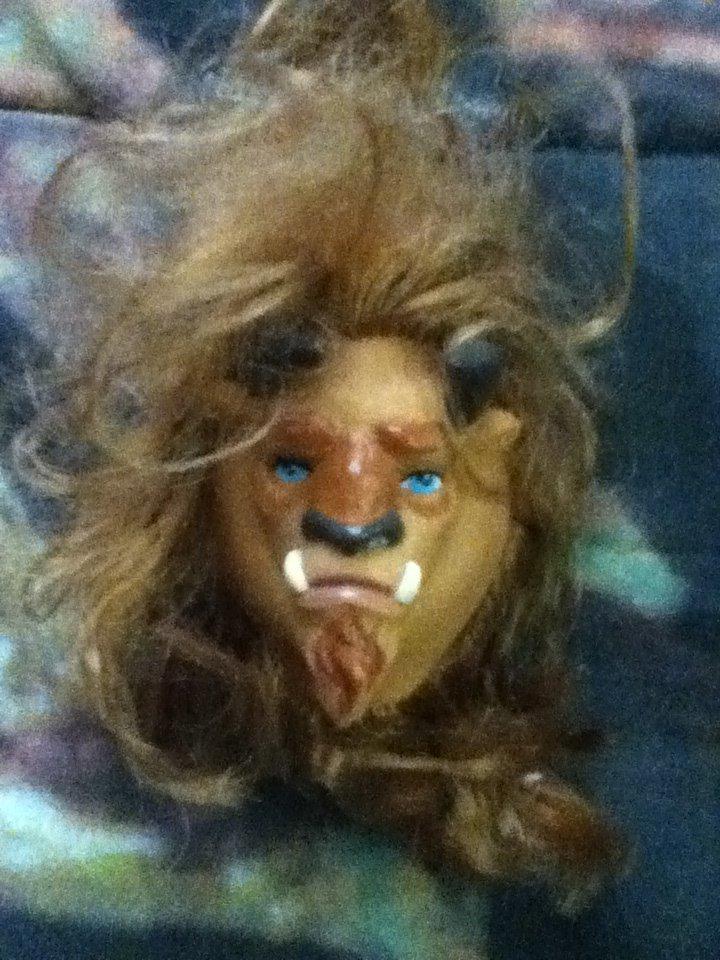 Disney Barbie Beauty and the Beast Ken Mask