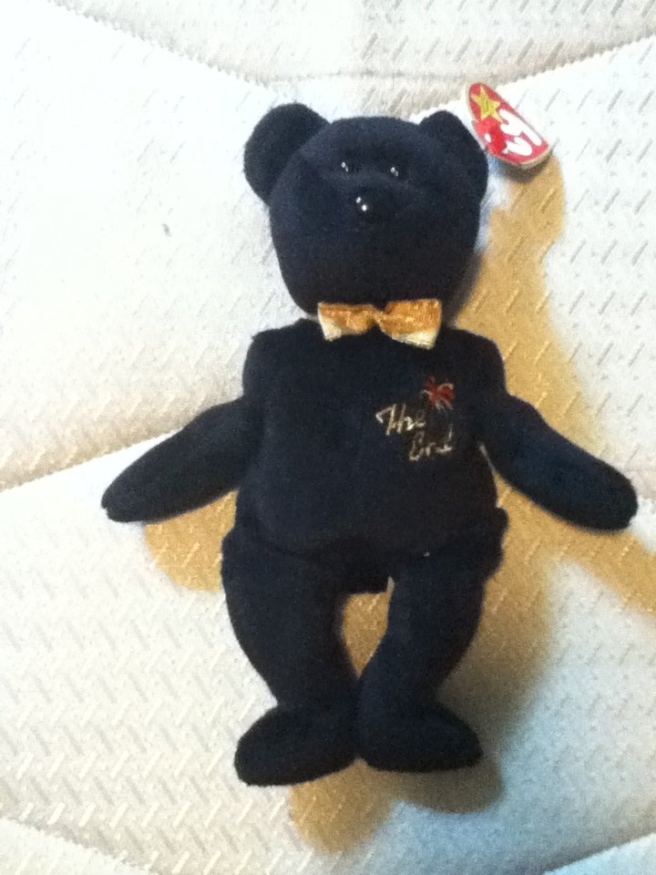 TY Beanie Baby  The End