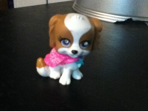 Polly Pocket Pet Dog (Puppy Gem Eyes Mattel)