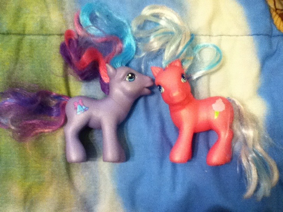 My Little Pony G3 Tink-A-Tink-A-Too and Cotton Candy