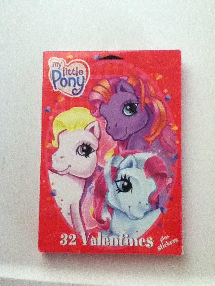 My Little Pony G3 Valentines
