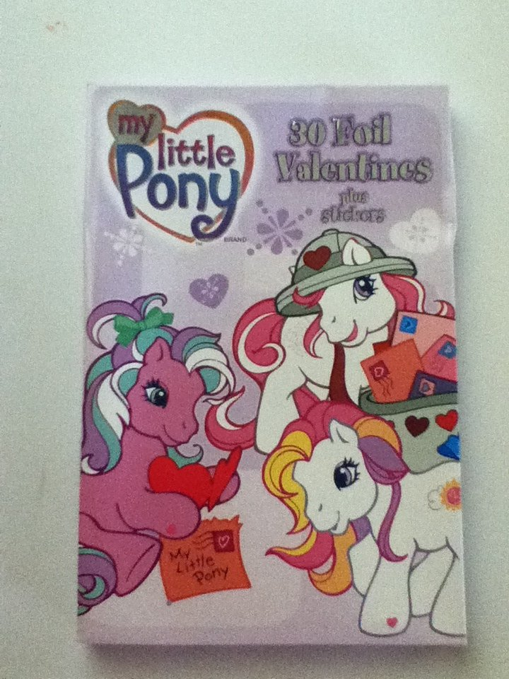 My Little Pony G3 Foil Valentines