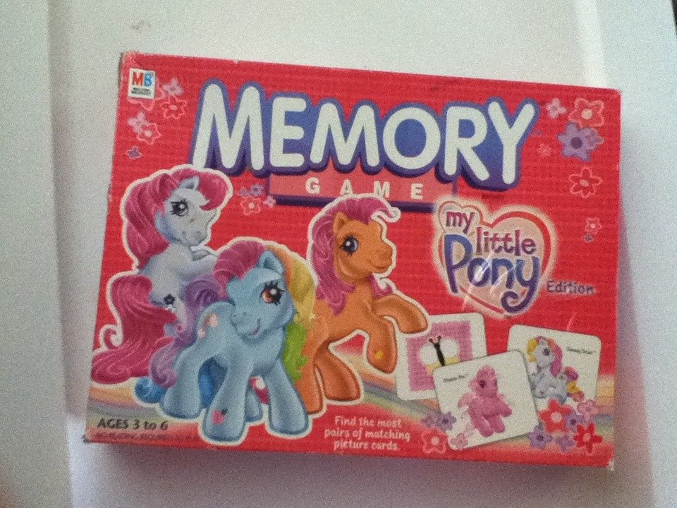 My Little pony G3 Memory Game