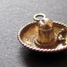 Sterling Silver Charm Vintage 925 Mexican Sombero