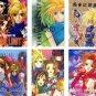 FINAL FANTASY VII DOUJINSHI / lot of 6 books Vincent x Lucrecia