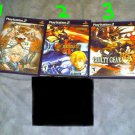 {3 GAME LOT} Guilty Gear X, X2, & Isuka