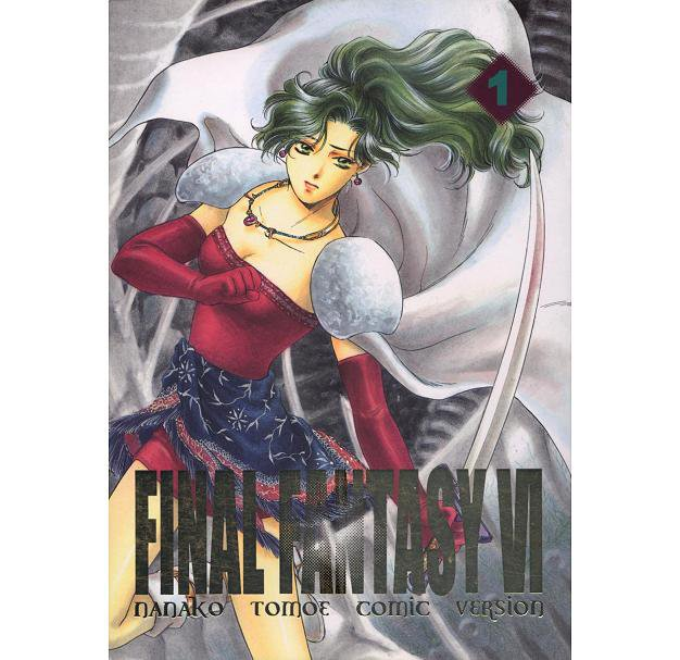 FINAL FANTASY VI 6 DOUJINSHI / FINAL FANTASY VI 1 / Terra, Locke, Edgar, Sabin